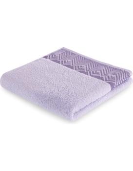 Bavlněný ručník AmeliaHome Aledo fialový