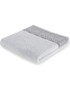 Bavlněný ručník AmeliaHome Aledo šedý
