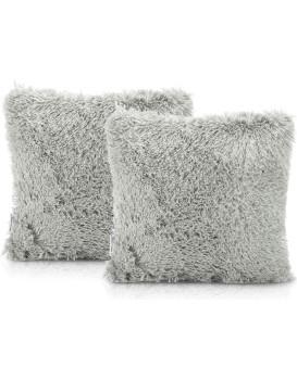 Povlaky na polštáře AmeliaHome Karvag šedé