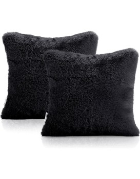 Povlaky na polštáře AmeliaHome Lovika černé