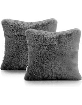 Povlaky na polštáře AmeliaHome Lovika tmavě šedé