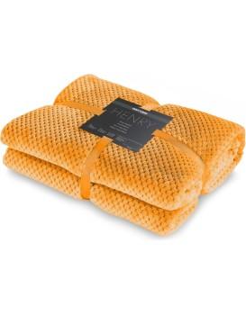 Deka z mikrovlákna DecoKing Toby oranžová