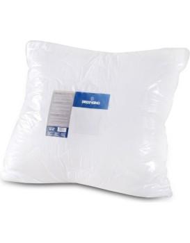 Bílý polštář z mikrovlákna DecoKing Tima 80x80 bílý