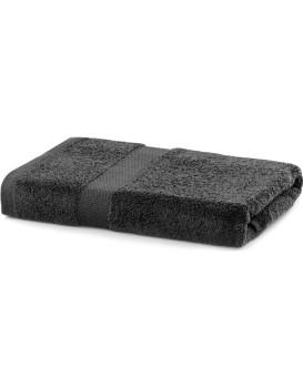 Bavlněný ručník DecoKing Mila 70x140 cm tmavě šedý