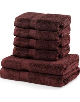 Set hnědých ručníků DecoKing MARINA