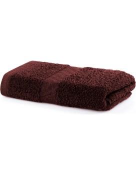 Bavlněný ručník DecoKing Marina hnědý