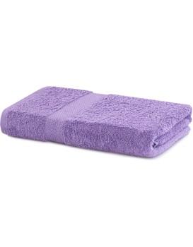 Bavlněný ručník DecoKing Maria lila