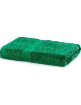 Bavlněný ručník DecoKing Mila 70x140 cm tmavě zelený