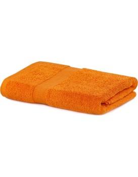 Bavlněný ručník DecoKing Maria oranžový