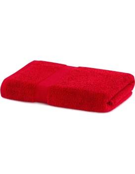 Bavlněný ručník DecoKing Mila 70x140 cm červený