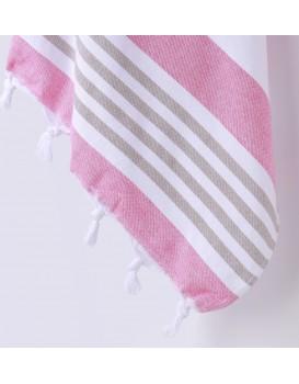 Bavlněná osuška DecoKing Torini růžová