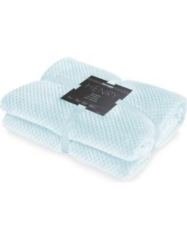 Přehoz na postel DecoKing Henry světle modrý