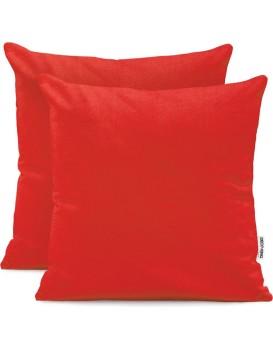 Povlaky na polštáře DecoKing Amber červené