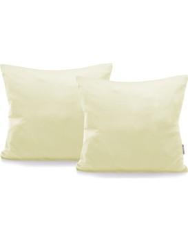 Povlaky na polštáře Decoking Terro 40x40 krémové - 2 kusy