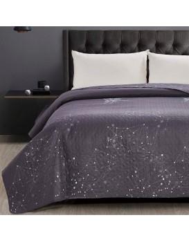 Oboustranný přehoz na postel z mikrovlákna DecoKing Hypnosis Eagle