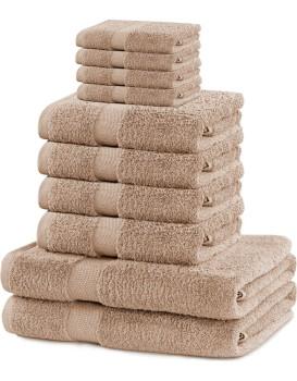 Set ručníků DecoKing Kunis béžové