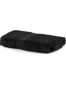 Bavlněný ručník DecoKing Mila 30x50cm černý