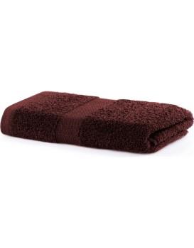 Bavlněný ručník DecoKing Mila hnědý