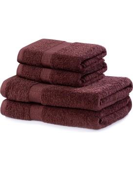 Set hnědých ručníků DecoKing Niki
