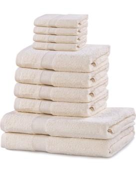 Set ručníků DecoKing Kunis ecru