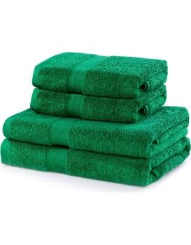 Set zelených ručníků DecoKing Niki