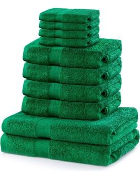 Set ručníků DecoKing Kunis zelené