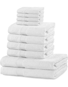 Set ručníků DecoKing Kunis bílé