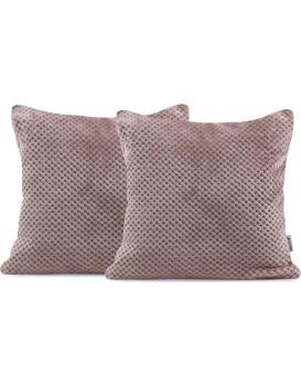 Povlaky na polštáře Decoking Xela cappuccino 45x45 - 2 kusy