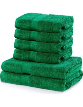 Set ručníků DecoKing MARINA zelené