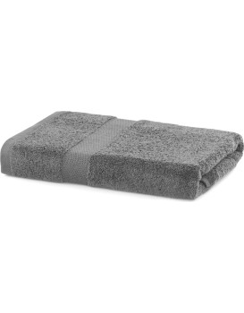 Bavlněný ručník DecoKing Mila 70x140 cm šedý