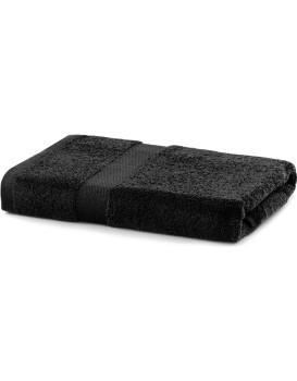 Bavlněný ručník DecoKing Maria černý