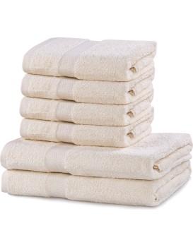 Set ručníků DecoKing MARINA ecru