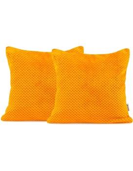 Povlak na polštář DecoKing HENRY 45x45 cm oranžový