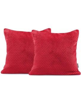 Povlaky na polštáře DecoKing henry červené