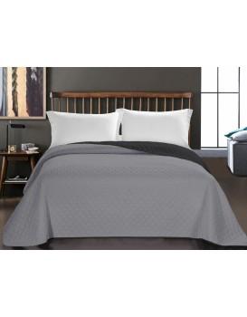 Přehoz na postel DecoKing AXEL stříbrný