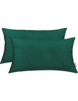 Povlaky na polštáře DecoKing Amber láhvově zelené