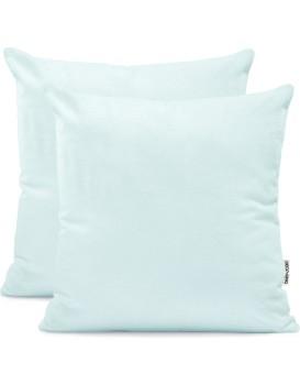 Povlaky na polštáře DecoKing Amber světle modré