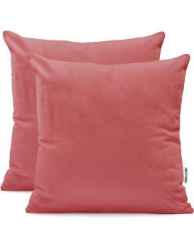 Povlaky na polštáře DecoKing Amber růžové