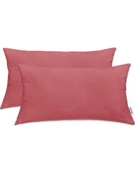 Povlaky na polštáře DecoKing Amber špinavě růžové
