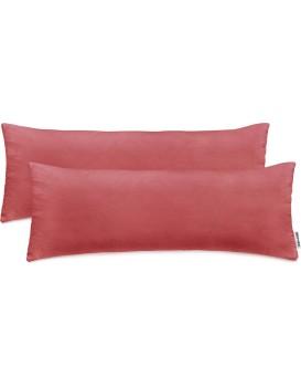 Povlaky na polštáře DecoKing Amber I růžové