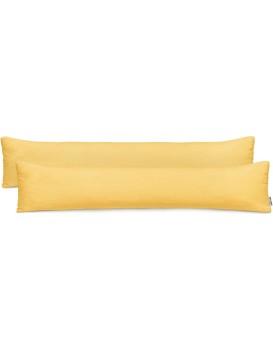Povlaky na polštáře DecoKing Amber I oranžové