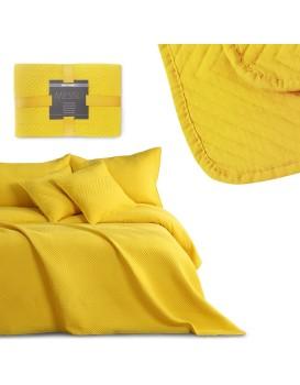 Přehoz na postel DecoKing Messli žlutý