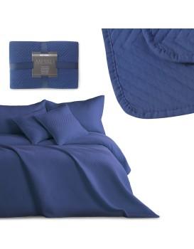 Přehoz na postel DecoKing Messli modrý