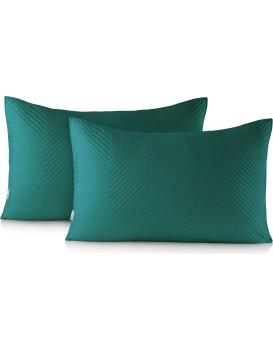 Povlaky na polštáře DecoKing Messli I zelené