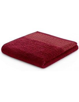 Bavlněný ručník DecoKing Andrea bordó