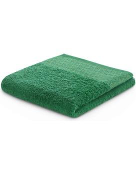 Bavlněný ručník DecoKing Andrea zelený