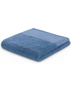 Bavlněný ručník DecoKing Andrea modrý