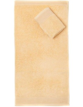 Bavlněný ručník Aqua 70x140 cm béžový