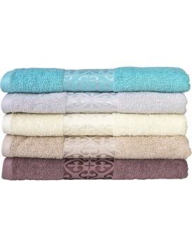 Bavlněný ručník August 30x50 cm krémový