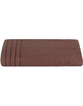 Bavlněný ručník Bella 70x140 cm hnědý